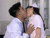 Hot Nurse Eir Ueno Makes The Doctor Happy With Sex picture 12