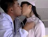 Hot Nurse Eir Ueno Makes The Doctor Happy With Sex picture 15