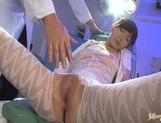 Hottie Mai Hanano sex toy action with vibrator insertion
