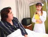 Rina Usui masture nurse sex! picture 12