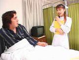 Rina Usui masture nurse sex! picture 13