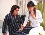 Rina Usui masture nurse sex! picture 15