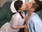 Kinky and petite nurse teasing, fondled and hard fucked picture 13
