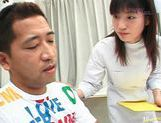Young and hot nurse Saki Budou makes sure her patient is happy