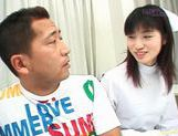 Young and hot nurse Saki Budou makes sure her patient is happy picture 12