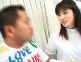 Young and hot nurse Saki Budou makes sure her patient is happy picture 14