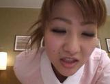 Hot Japanese nurse sex action picture 11