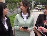 Cock-starved Japanese AV model begs for sex and gets drilled