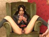 Teen Schoolgirl Ayano Umemiya Masturbates In Front Of An Audience