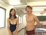 Kaede Niiyama looking mighty fine and dick riding action