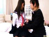 Hikaru Ayuhara Japanese schoolgirl is amazing picture 13