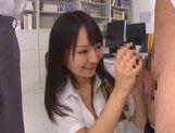 Teen Cock Sucker Ayumi Kurebayashi Swallows Two Loads picture 15