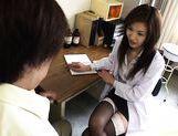 Mai Hanano Sexy Japanese teacher