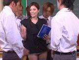 No Panties And Stockings Makes Teacher Yuna Shiina Fuckable picture 11