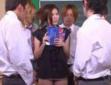 No Panties And Stockings Makes Teacher Yuna Shiina Fuckable picture 12