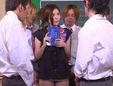 No Panties And Stockings Makes Teacher Yuna Shiina Fuckable picture 12