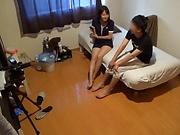 Kumakura Shouko ,has her muff streched doggy