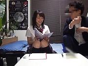 Shibuya Kaho flaunts her sexy huge boobs