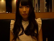 Tiny tits hottie Nanase Miku enjoys a raunchy solo session
