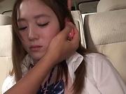 Hot Asian schoolgirl enjoys sensational poking