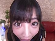 Japanese schoolgirl is getting banged