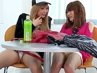 Japanese teens are having fun posing kinky on cam