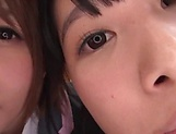 Japanese schoolgirls are being naughty picture 13