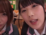 Japanese schoolgirls are being naughty picture 5