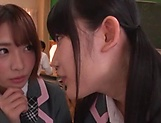Japanese schoolgirls are being naughty picture 6