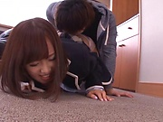 Akane Aoi in strong Japanese POV hardcore scenes