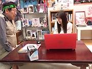 Kumakura Shouko amazing teen porn with older man