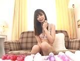 Ootori Kaname gets kinky on her horny self picture 13