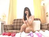 Ootori Kaname gets kinky on her horny self