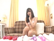 Ootori Kaname pleasures her wet warm muff