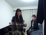 Hot Japanese amateur sucks and fucks big time  picture 10