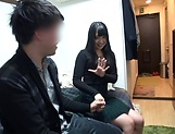 Hot Japanese amateur sucks and fucks big time  picture 14