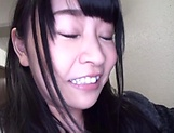 Hot Japanese amateur sucks and fucks big time  picture 6