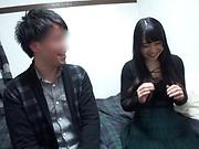 Minano Ai sucks and fucks in insane webcam amateur video