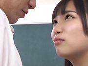 Curvy love Eikawa Noa squirts after a hardcore bang