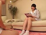 Horny Aya Miyazaki in solo masturbation event picture 14