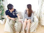 kinky toy session involving hot Japanese hottie