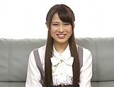 Hardcore schoolgirl Yuikawa Chihiro has her cunt nailed hard picture 11