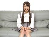 Hardcore schoolgirl Yuikawa Chihiro has her cunt nailed hard picture 12
