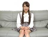 Hardcore schoolgirl Yuikawa Chihiro has her cunt nailed hard picture 13