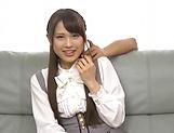 Hardcore schoolgirl Yuikawa Chihiro has her cunt nailed hard picture 14