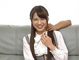 Hardcore schoolgirl Yuikawa Chihiro has her cunt nailed hard picture 15