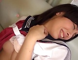 Spicy teen hottie Sakuno Kanna in hardcore pounding session