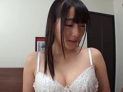 Ayane Suzukawa,has her cunt streched in a crazy bonk
