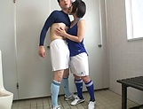 Uchida Atsuko is more than glad to jerk off a dick