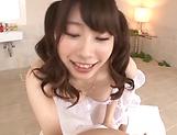 Ookura Miyu get kinky on a stiff pole